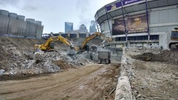 MetroDome Loading Dock Removal